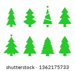 vector collection of christmas... | Shutterstock .eps vector #1362175733