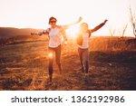 mother and daughter having fun... | Shutterstock . vector #1362192986