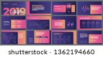 colorful presentation templates ... | Shutterstock .eps vector #1362194660