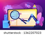 laptop and software assisting... | Shutterstock .eps vector #1362207023
