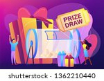 lucky tiny people turning... | Shutterstock .eps vector #1362210440