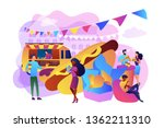 tiny business people on...   Shutterstock .eps vector #1362211310