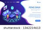 feng shui consultant rearranges ...   Shutterstock .eps vector #1362214613