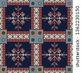 seamless pattern design with... | Shutterstock .eps vector #1362230150