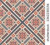 seamless pattern design with... | Shutterstock .eps vector #1362230156
