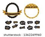 graduation party vector design... | Shutterstock .eps vector #1362269960