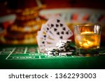 gambling  fortune  game and... | Shutterstock . vector #1362293003