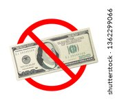 one hundred usa dollars... | Shutterstock .eps vector #1362299066