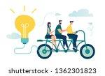 vector illustration of people... | Shutterstock .eps vector #1362301823