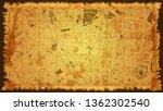 design art vintage map city el... | Shutterstock .eps vector #1362302540