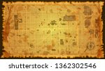design art vintage map city... | Shutterstock .eps vector #1362302546