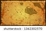 design art vintage map city abu ... | Shutterstock .eps vector #1362302570