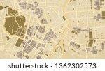 design art vintage map city... | Shutterstock .eps vector #1362302573