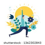 vector illustration  concept of ... | Shutterstock .eps vector #1362302843