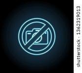 camera ban  forbiddance icon....