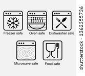 properties  of  food contact... | Shutterstock .eps vector #1362355736