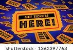 get tickets here buy lottery... | Shutterstock . vector #1362397763