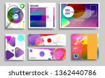 modern abstract covers set.... | Shutterstock .eps vector #1362440786