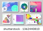 modern abstract covers set.... | Shutterstock .eps vector #1362440810