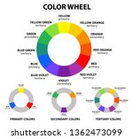 color wheel graphic | Shutterstock .eps vector #1362473099