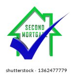 second mortgage finance icon... | Shutterstock . vector #1362477779