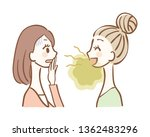 illustration of a woman who...   Shutterstock .eps vector #1362483296