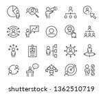 set of job search icons  such... | Shutterstock .eps vector #1362510719