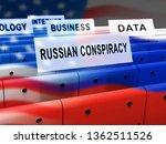 russian conspiracy scheme... | Shutterstock . vector #1362511526