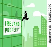 ireland property or real estate ... | Shutterstock . vector #1362512240