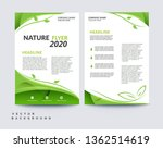 vector eco flyer  poster ... | Shutterstock .eps vector #1362514619