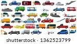 set of transportation vehicle... | Shutterstock .eps vector #1362523799