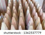 picket wood sharp | Shutterstock . vector #1362537779