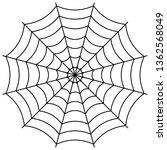 round the spider's web  cobweb...   Shutterstock .eps vector #1362568049