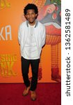 Small photo of New York, NY - April 7, 2019: Camrus Johnson attends Missing Link New York premiere at Regal Cinema Battery Park