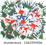 bright multi colored painting ... | Shutterstock . vector #1362594506