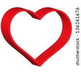 heart symbol for various design | Shutterstock .eps vector #136261676