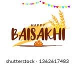 illustration of happy baisakhi...   Shutterstock .eps vector #1362617483