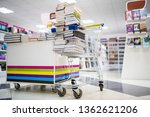 Shopping Cart Full Books In...