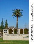 Small photo of Loma Linda, MAR 9: Entrance sign of the Loma Linda University on MAR 9, 2019 at Loma Linda, California