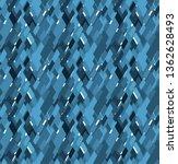 seamless pattern from rhombuses ... | Shutterstock .eps vector #1362628493