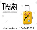 it s time to travel.trip to... | Shutterstock .eps vector #1362645359