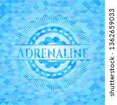 adrenaline sky blue emblem with ...   Shutterstock .eps vector #1362659033