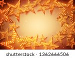 retro stars abstract background ...   Shutterstock . vector #1362666506
