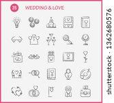wedding and love hand drawn...