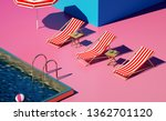 trendy still life composition... | Shutterstock . vector #1362701120