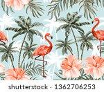 beautiful tropical vector...   Shutterstock .eps vector #1362706253
