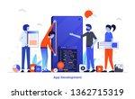 modern flat design illustration ... | Shutterstock .eps vector #1362715319