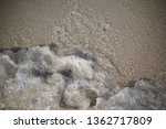 soft wave of the sea on the... | Shutterstock . vector #1362717809