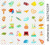 adventure time icons set.... | Shutterstock .eps vector #1362742259