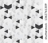 geometric vector pattern... | Shutterstock .eps vector #1362761309
